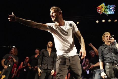 Matt Pokora - foot concert 2012